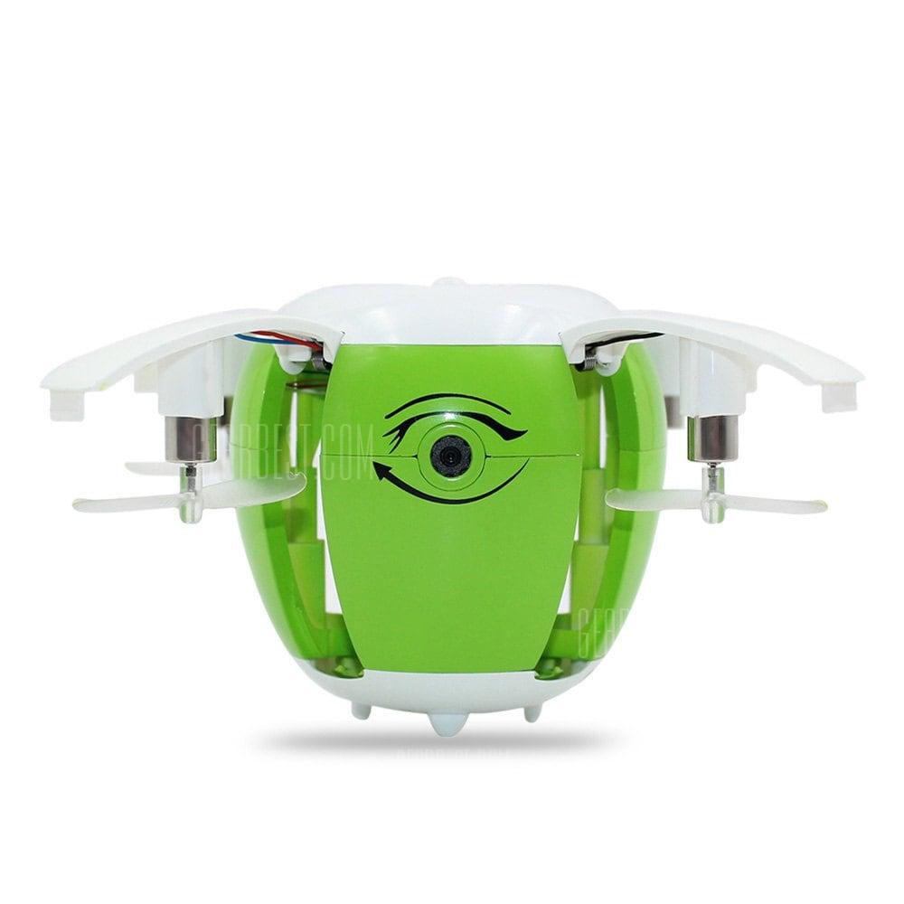 offertehitech-gearbest-Foldable Brushed RC Drone - RTF