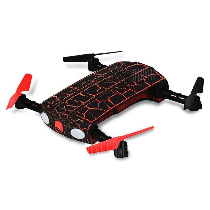 offertehitech-gearbest-Helic Max 1705W Foldable RC Pocket Drone - BNF