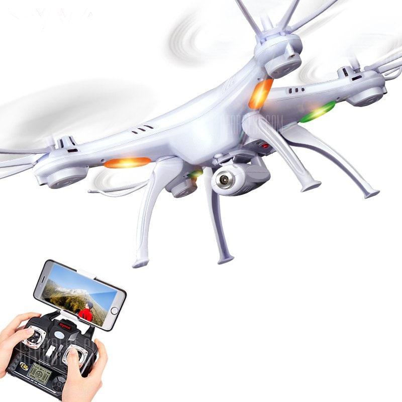 offertehitech-gearbest-SYMA X5SW RC Drone WiFi Camera Quadcopter Real-time Transmit Headless Mode