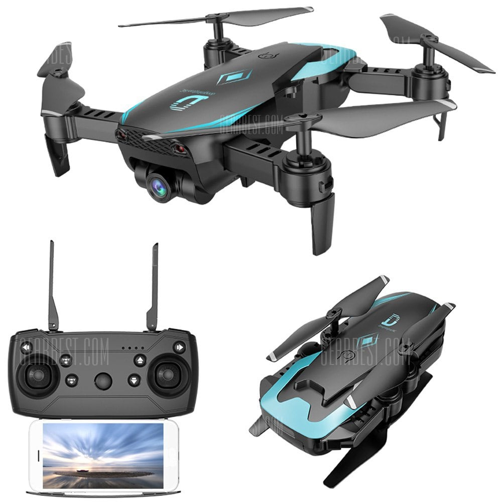 offertehitech-gearbest-X12 WiFi FPV RC Drone Altitude Hold Wide-angle Lens Waypoints