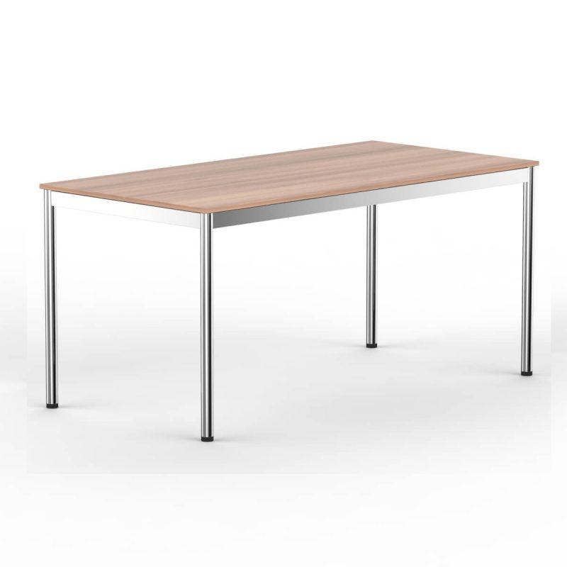 T1 Inox Schreibtisch kIrschbaum