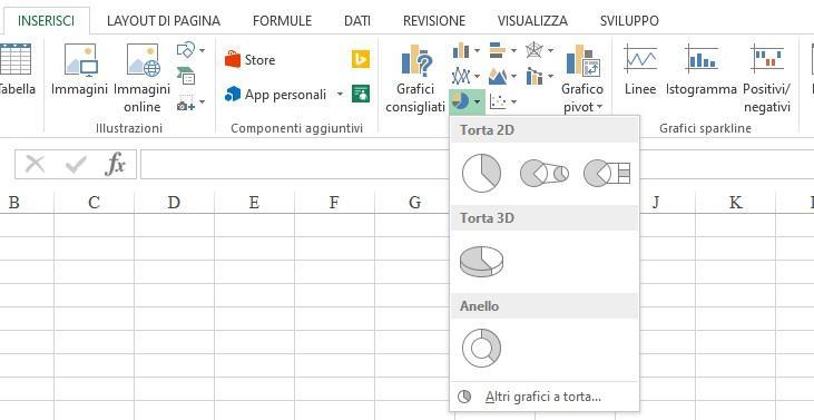 Office online - grafici excel