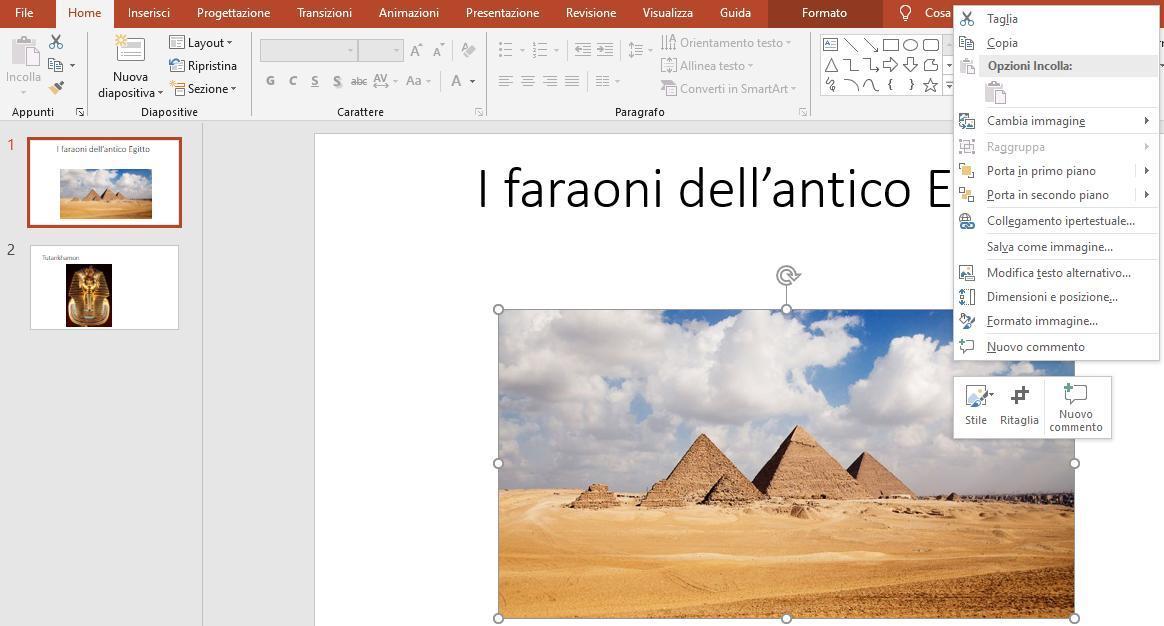 Office online - inserimento del testo alternativo 03