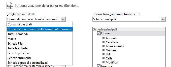 Office online- le barre multifunzione non presenti