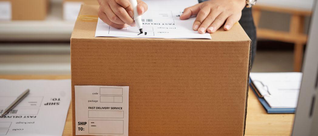Office online - pacco da spedire
