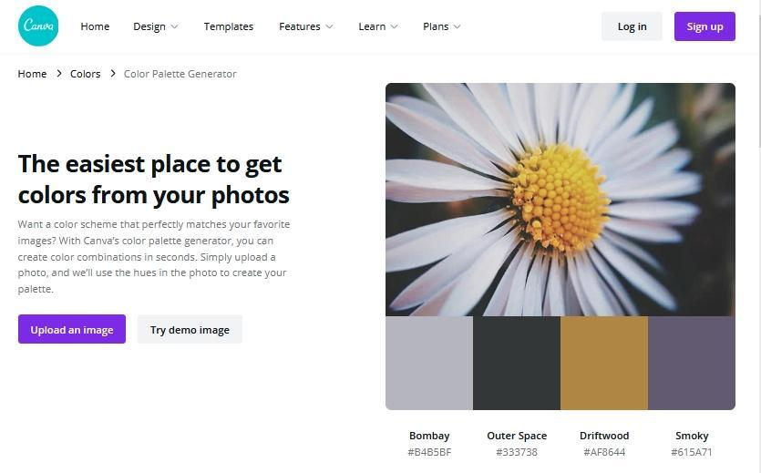 Office online: try demo image Canva