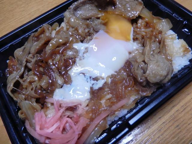 OKストア「牛すき焼き弁当」①