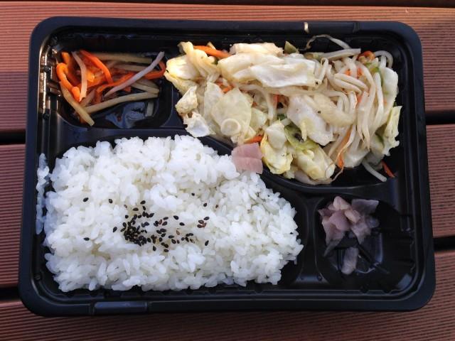 ロヂャースの「野菜炒め弁当」①