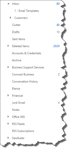 The entire folder structure along with permissions, contacts, calendars, etc. will all be migrated to Office 365.