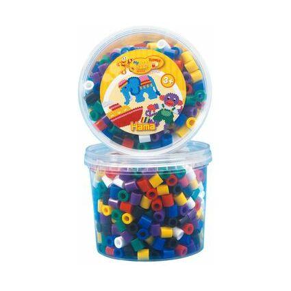 Hama Bugelperlen Maxi Dose Pastell Mix 600 Perlen 6 Farben
