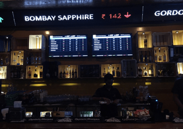 Bar stock exchange bombay