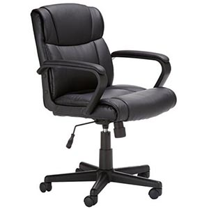 AmazonBasics Mid-Back Office Chairs review
