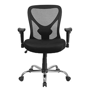 Hercules Series Black Mesh Executive Swivel Chair with Ratchet Back Review