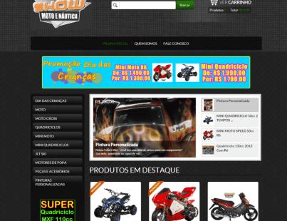 Loja Virtual Show Moto Náutica