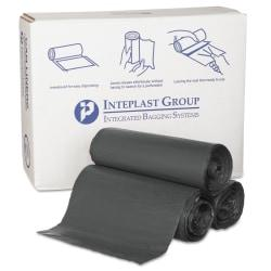 Made for heavy-duty applications, these can liners help ensure that your facility looks as clean and professional as possible. Use them in high-traffic areas to make sure that rubbish removal is fast and easy.  Made of virgin resins for consistent performance.  Holds up to 55 gallons for high-traffic use.  Twist-tie closure helps keep contents in place.  Star-sealed bottom distributes weight more evenly and creates a powerful seal to help prevent splits and spills.  Clamshell box features easy identification.