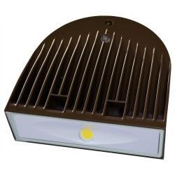 The US LED QubePak Regal LED Wall Pack is ideal for exterior wall lighting applications in new construction or retrofit opportunities. It is designed for versatility, and is intended to be mounted either to a wall, ceiling or conduit.  Produces a brightness of 4,450 lumens.  5000 Kelvin (Day Light) appearance.  Get up to 137,000 hour rated life.  IP66, wet location listed for indoor and outdoor use.  120 degree beam angle. Great for store displays and architectural illumination.  Easy installation with secure lock hinge, low-profile design. J-box or conduit wiring.  UL listed for performance and safety.  Backed by the manufacturer's 10-year warranty.  Energy efficient - designed to use less energy than alternative products, potentially helping you save money and reduce your carbon footprint.  UL Claim Validation - UL environmental claim validations lend third-party credibility to single-attribute environmental claims.