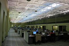call center office space design