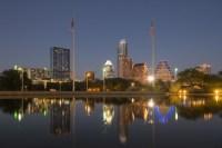 Austin office space skyline