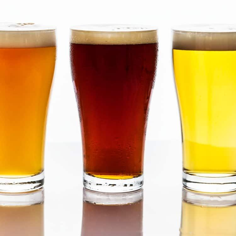 image of beer varieties and sub-types
