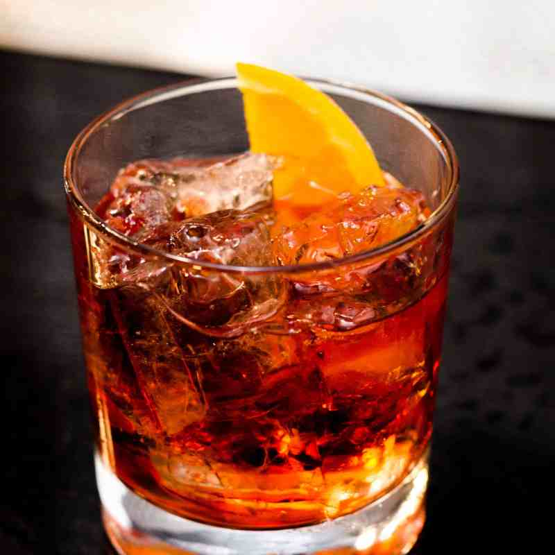 image of a Manhattan cocktail