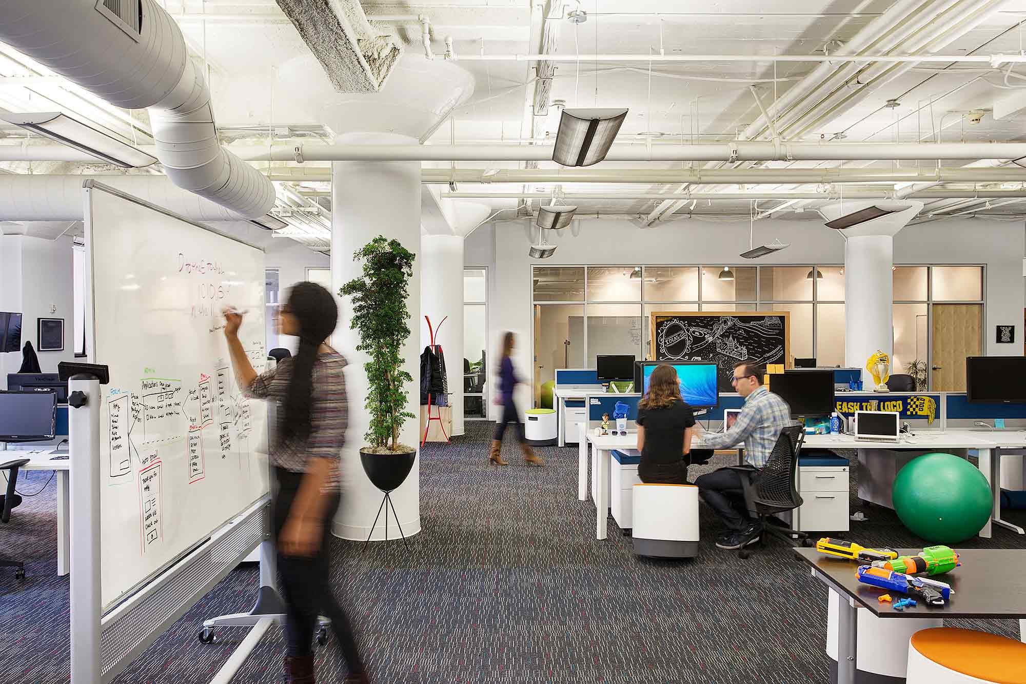 A Peek Inside Prezis Cool San Francisco Office Officelovin