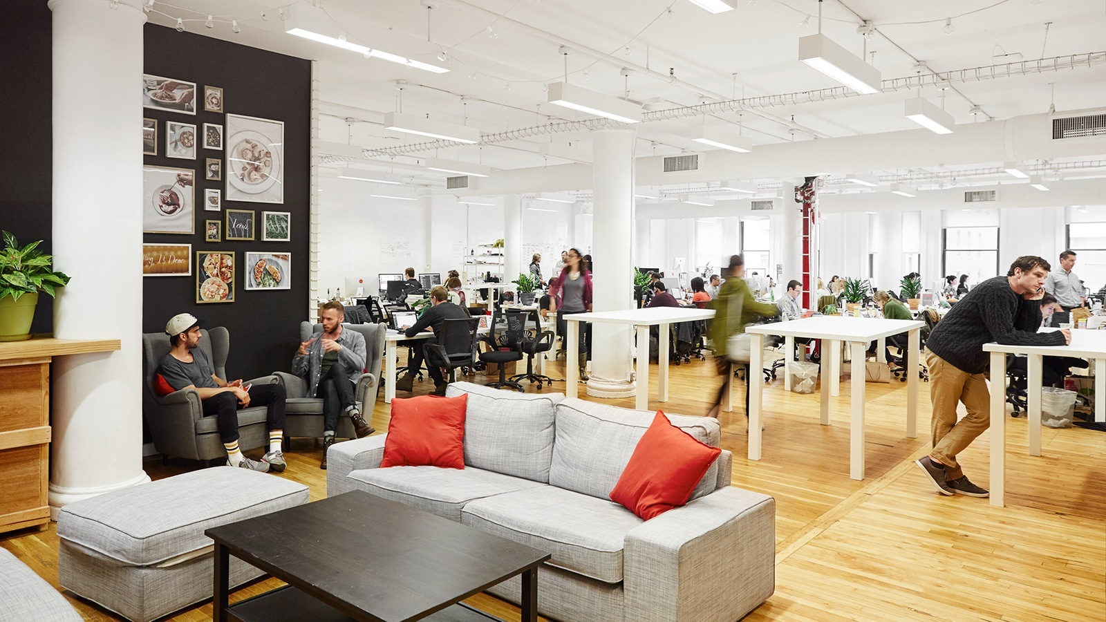 An Exclusive Look Inside Plateds Hip New York City Office