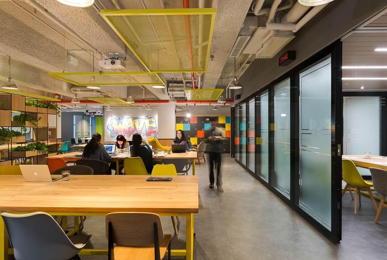 A Tour Of The Waves Hong Kong Coworking Space Officelovin