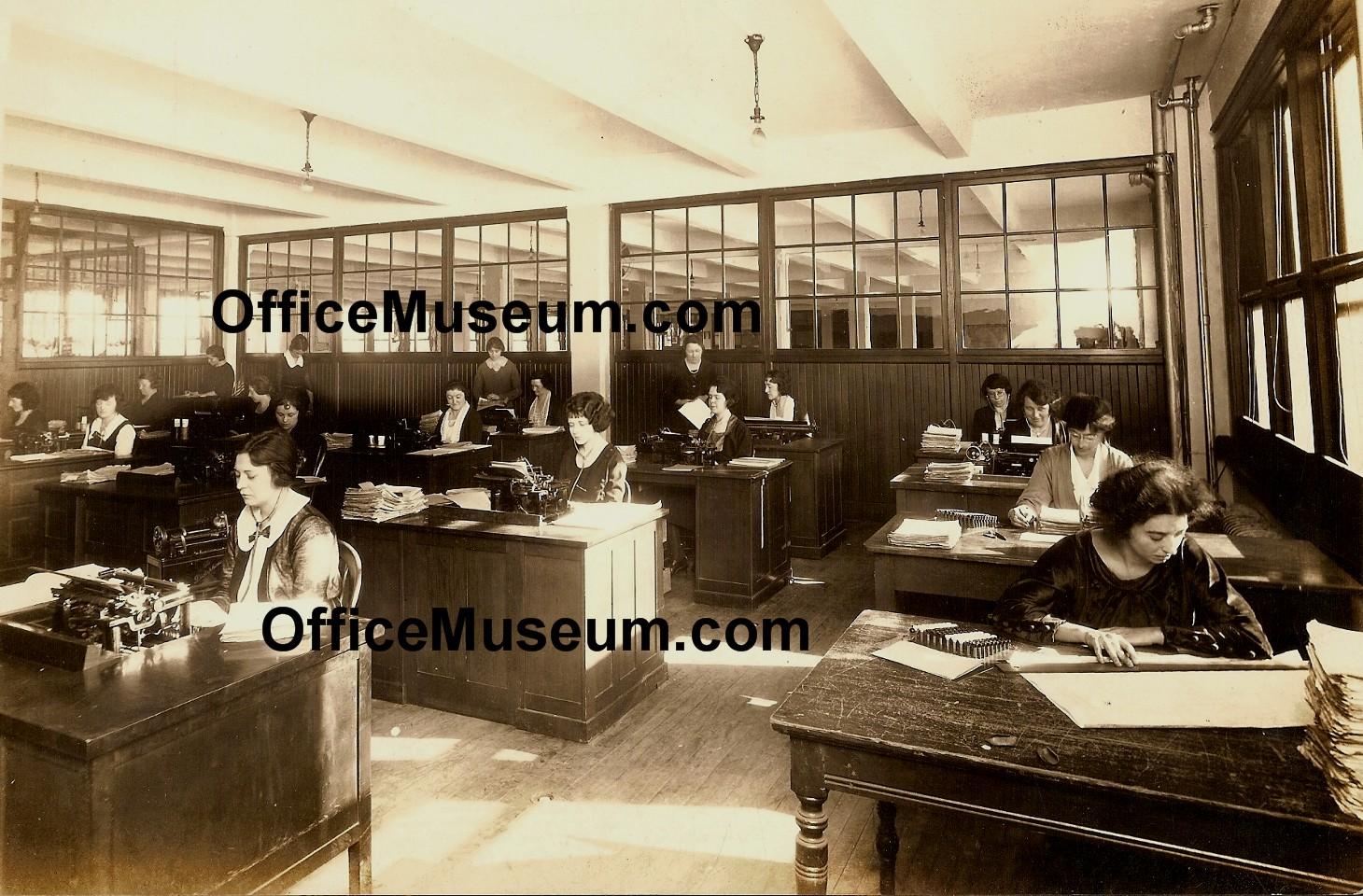 Office Photos 1920s