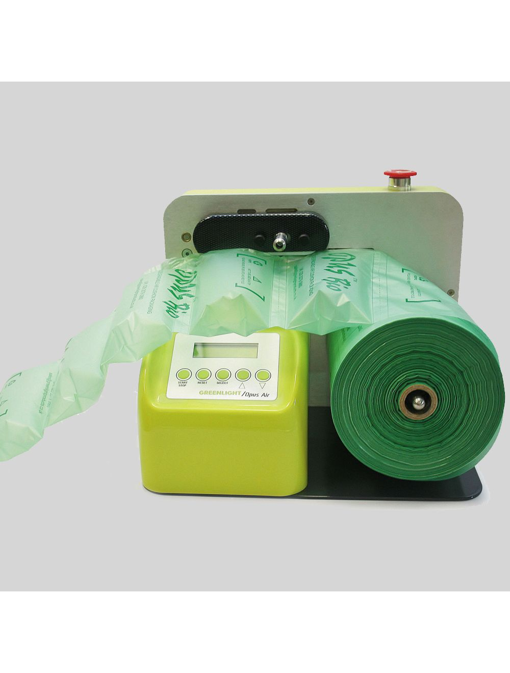 opus bio greenlight air pillow cushion machine rolls 400mm x 50mm x 325m