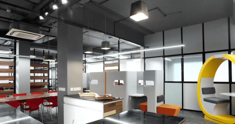 Big Companies With Best Office Space in Bangalore