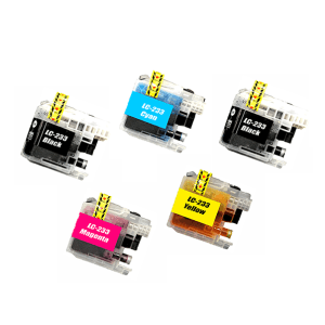 Compatible Brother LC-233 Ink Cartridges Super Value Pack