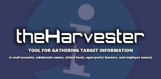 theHarvester tool used for Information gathering In Kali Linux