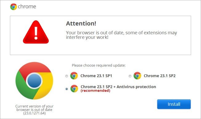 Chrome Extension To Push Malware