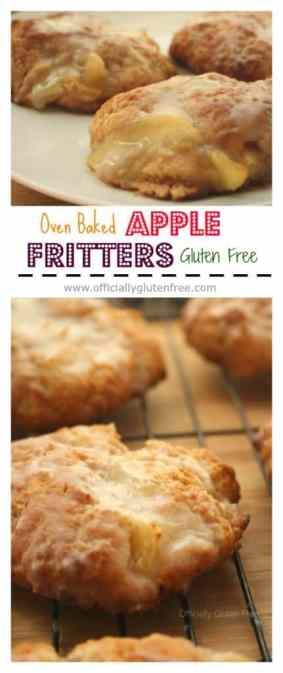 Baked Apple Fritters Gluten Free