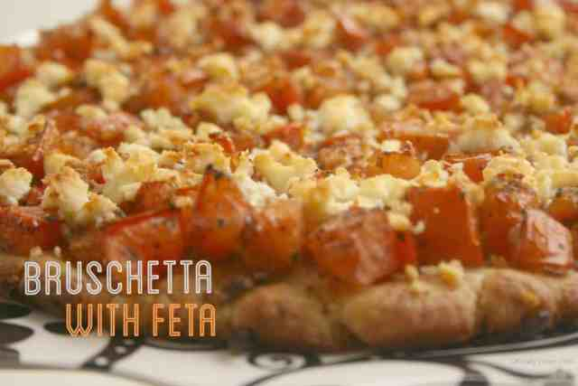 Bruschetta with Feta Gluten free