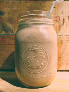 Peanut Butter Banana Ptoein Shake