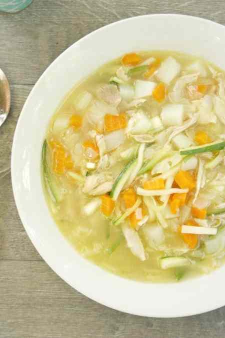 Gluten Free Turkey Soup