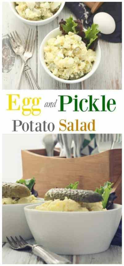 Egg and Pickle Potato Salad