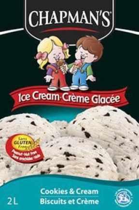 Chapman's Gluten Free Ice Cream