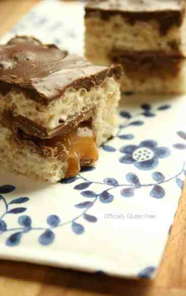 Rice Krispy Caramilk Bars