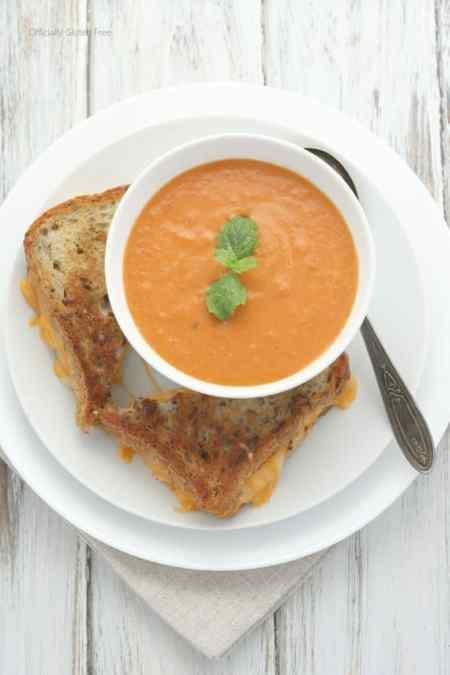 Creamy Gluten Free Tomato Soup