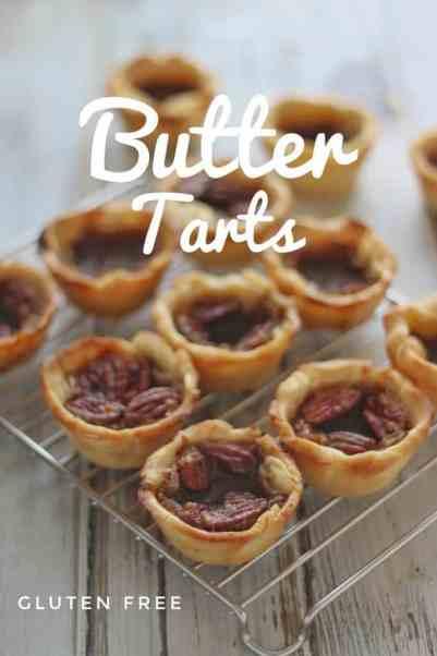 Gluten Free Butter Tarts