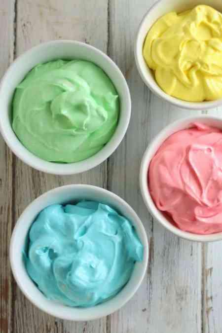 Rainbow Cheesecake Dip with Cinnamon Sugar Unicorns