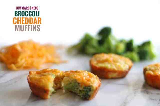 Low Carb Broccoli Cheddar Muffins