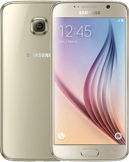 Samsung Galaxy S6 32GB Gold Unlocked...