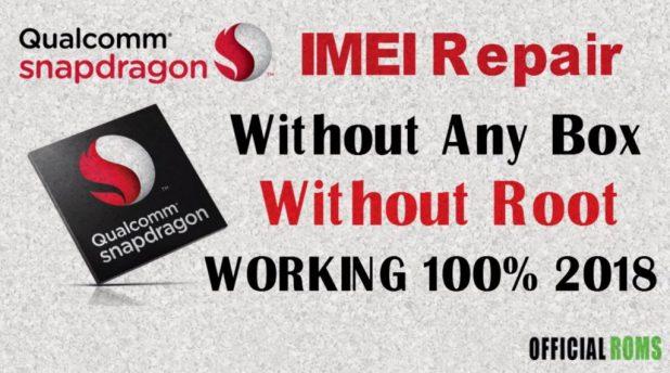 Qualcomm Smartphone QWrite Write IMEI Tool