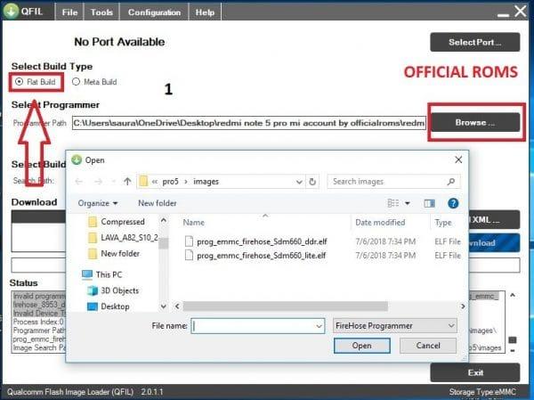 Download Qualcomm Flash Image Loader QFIL Tool