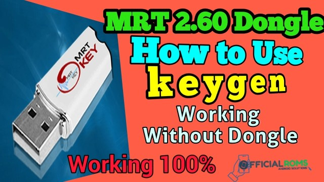 MRT Dongle 2 60 Crack With KeyGen Box How to Use Full Detail All