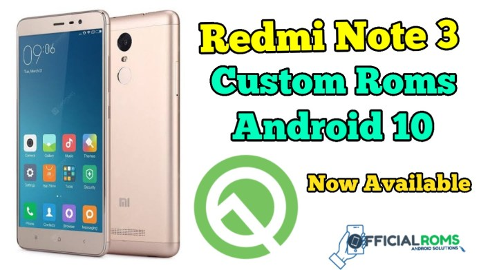 Install Pixel Experience for Xiaomi Redmi Note 3 Android 10
