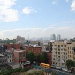 Litið til hægri... NYC skyline